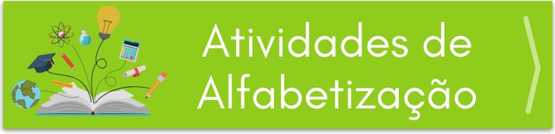 Atividades de Alfabetização - PLanejamento de Aulas
