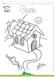 Desenhos para Colorir – Casa no Campo