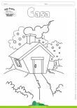 Desenhos para Colorir – Casa