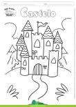 Desenhos para Colorir – Castelo