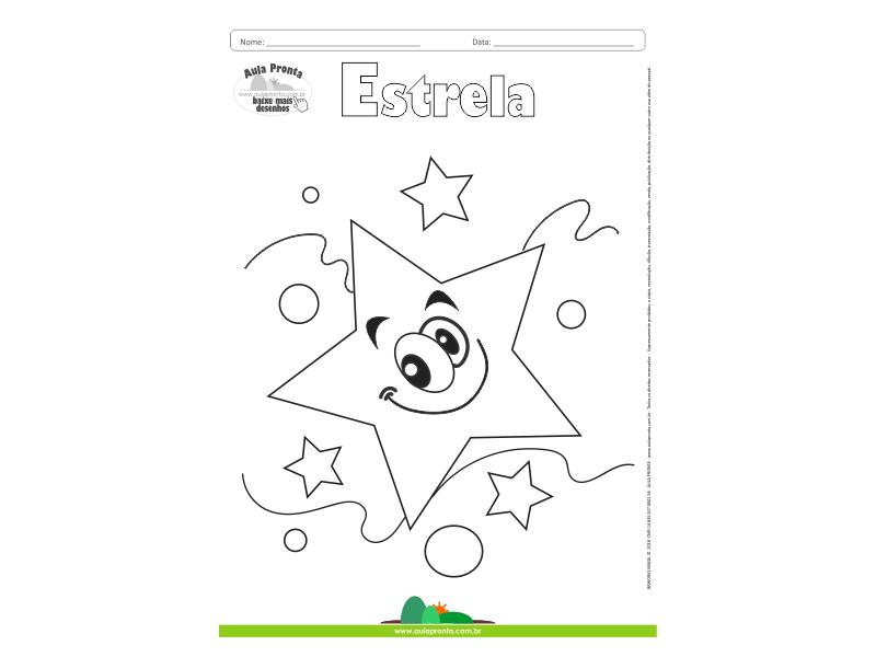 Desenhos para Colorir – Estrela