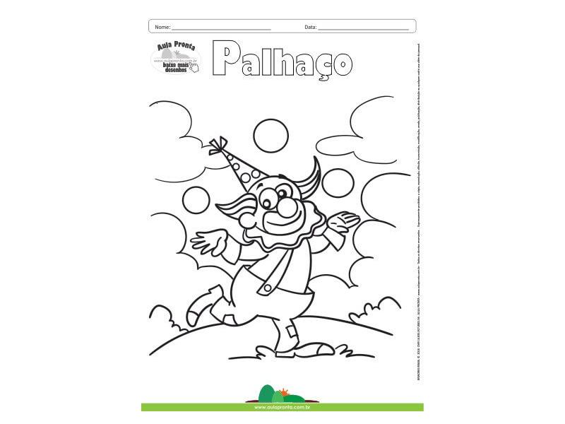 Top Five Desenho De Palhaco 157 Para Colorir