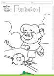 Desenho para Colorir – Futebol