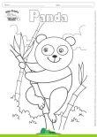 Desenhos para Colorir – Panda