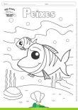 Desenhos para Colorir – Peixes