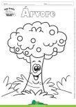 Desenho para Colorir – Árvore