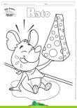 Desenhos para Colorir – Rato