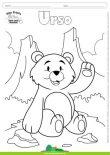 Desenhos para Colorir – Urso